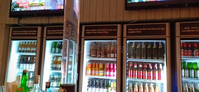 Barra della birra immagine stock