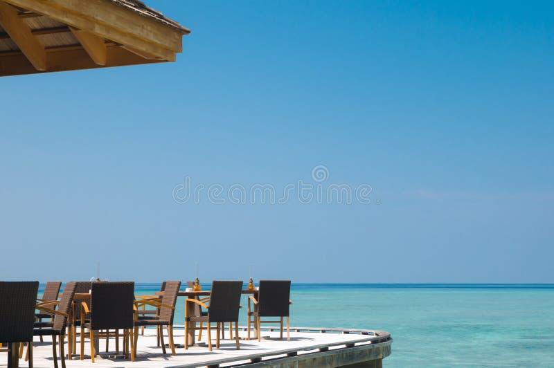 Barra della spiaggia immagine stock