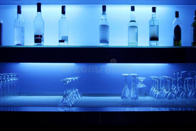 Barra di Alkohol fotografia stock