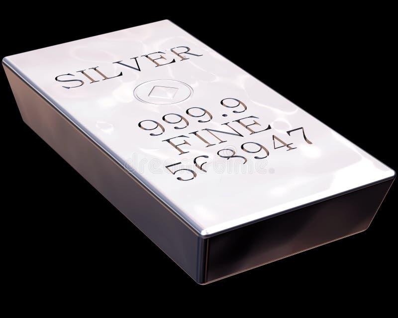 Barra di argento royalty illustrazione gratis