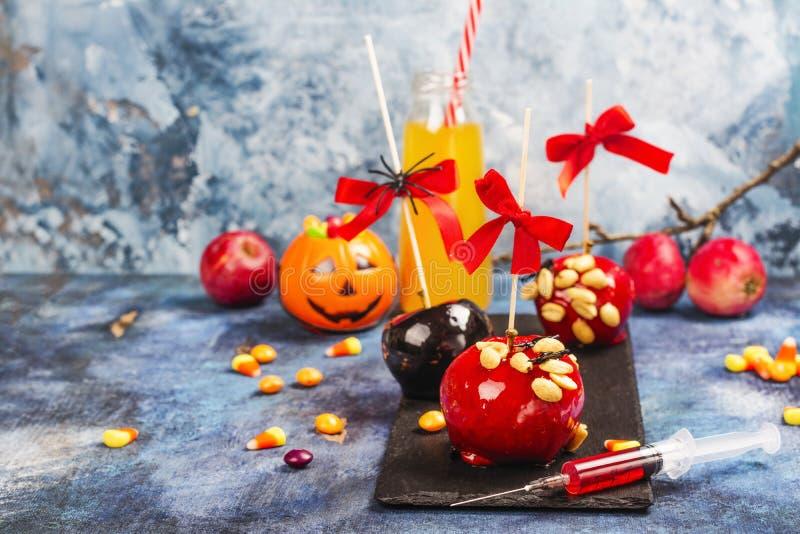 Barra di caramella di Halloween fotografia stock libera da diritti