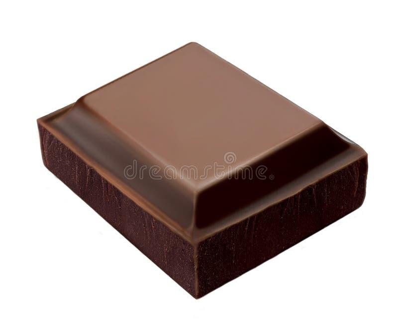Barra di cioccolato immagine stock libera da diritti