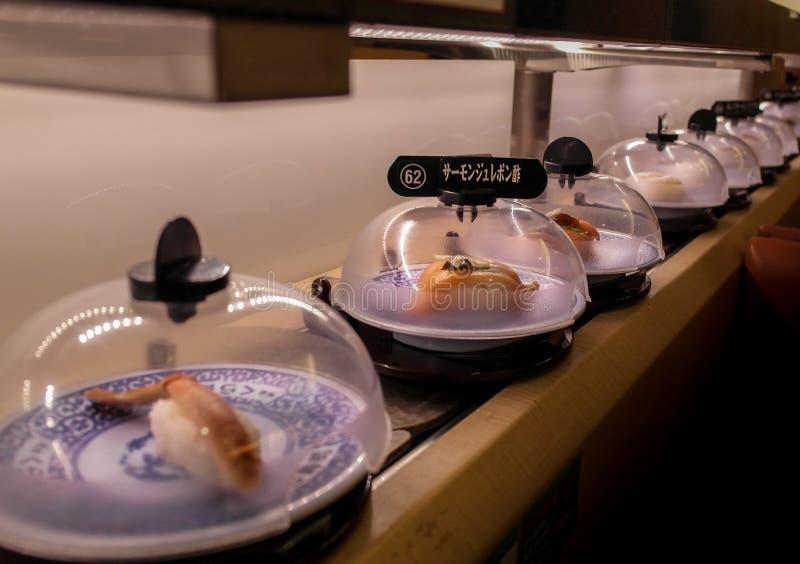 Barra di sushi immagine stock libera da diritti
