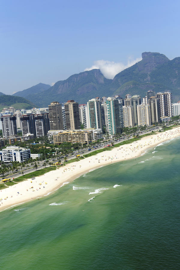 Barra a Dinamarca Tijuca, Rio de Janeiro imagens de stock royalty free