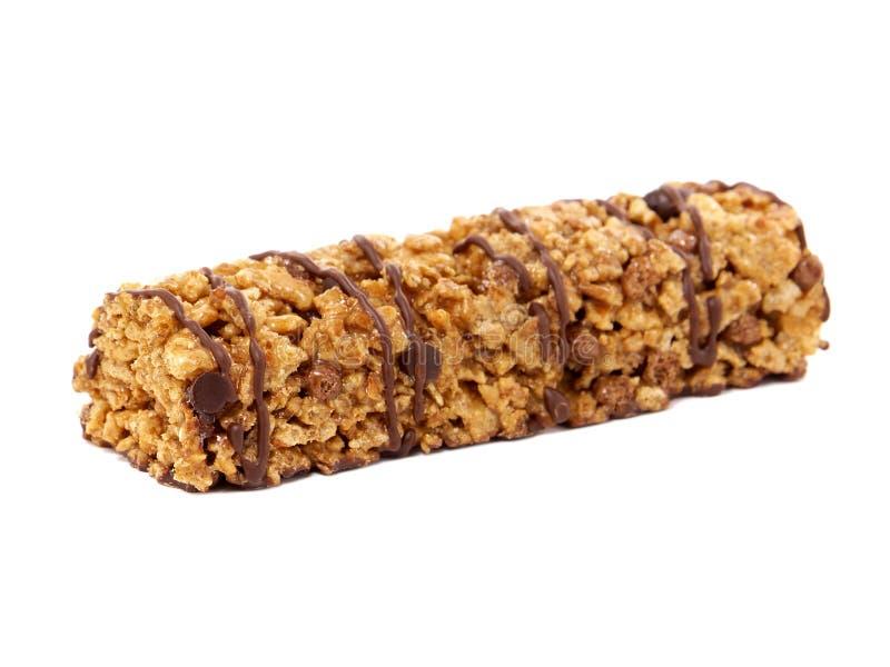 Barra do cereal do chocolate fotos de stock royalty free