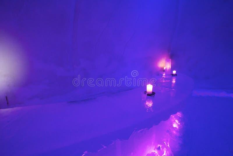Barra do gelo, Finlandia foto de stock