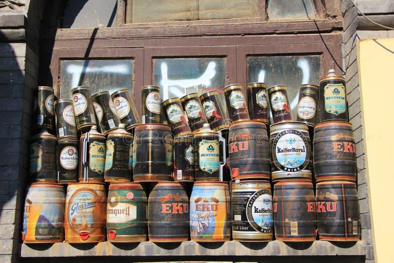 Barra do hutong do Pequim fotos de stock