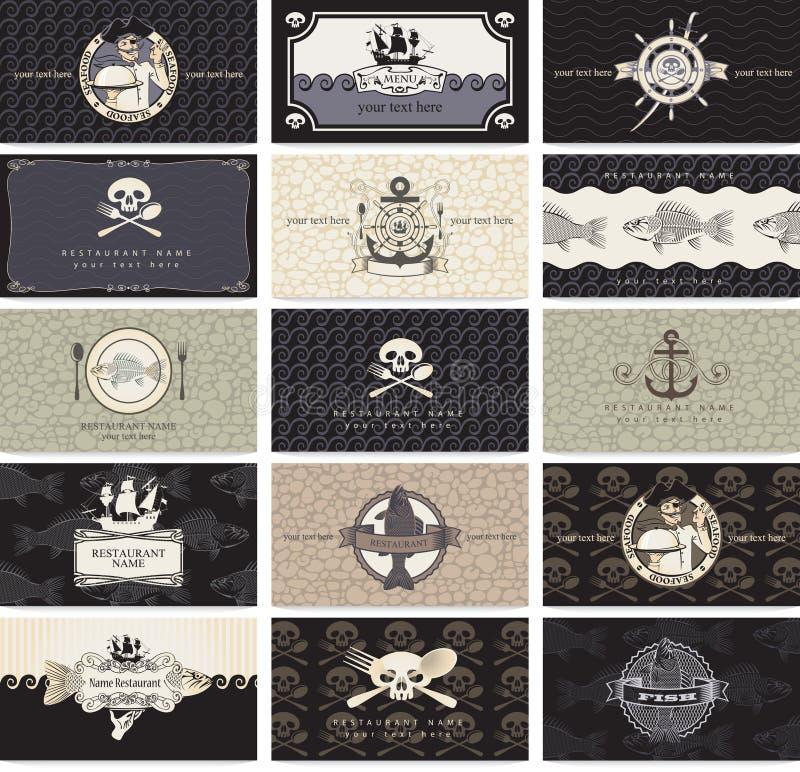 Barra do pirata ilustração royalty free