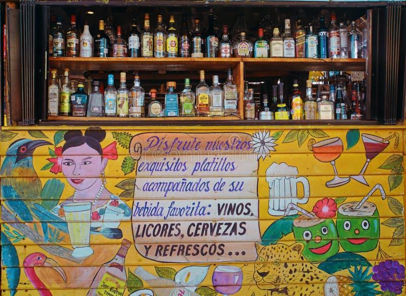 Barra mexicana imagenes de archivo