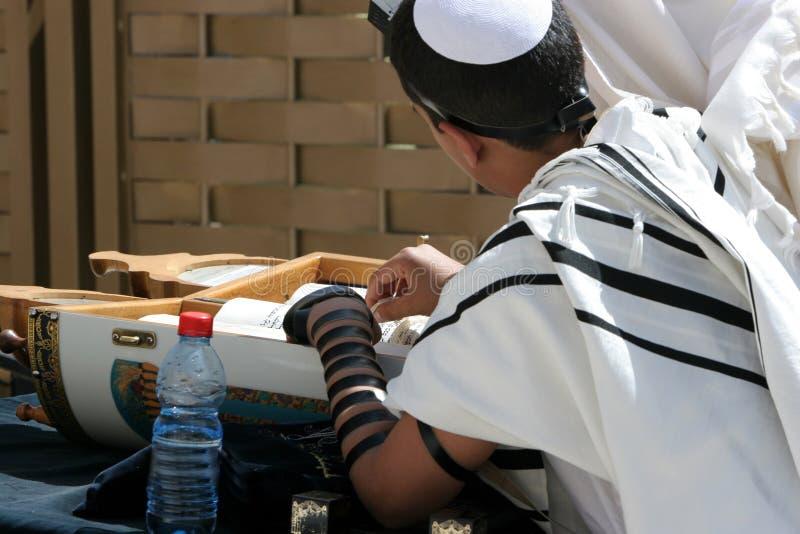 Barra Mitzvah immagine stock libera da diritti