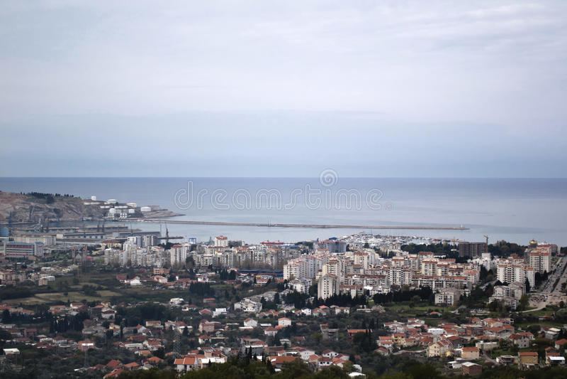 Barra, Montenegro imagen de archivo
