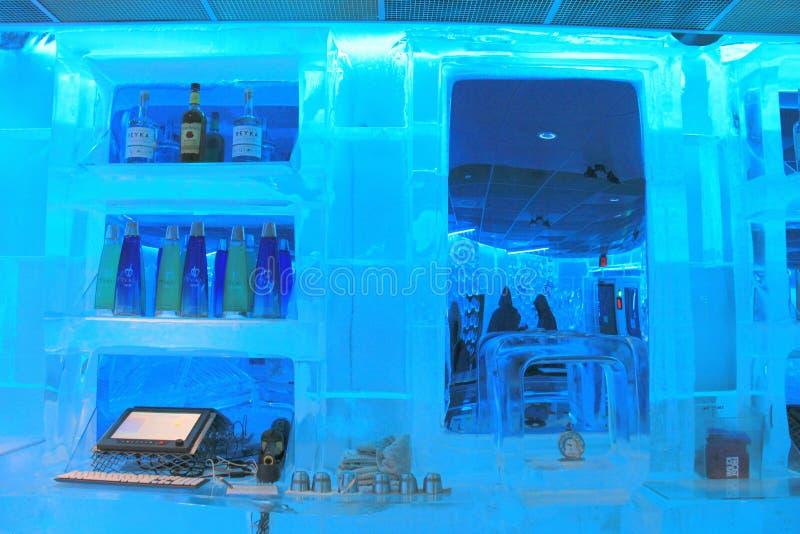 Barra principal dentro de la barra de Frost, masa de Boston, 2014 foto de archivo