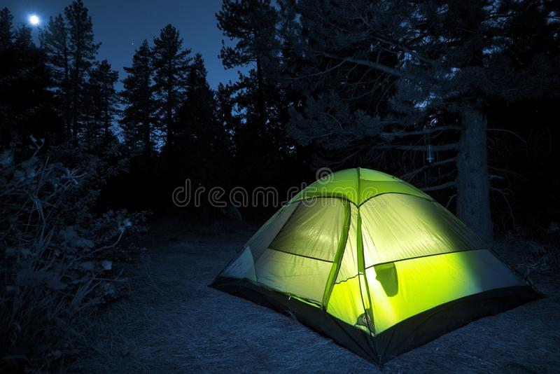 Barraca de acampamento pequena fotos de stock royalty free