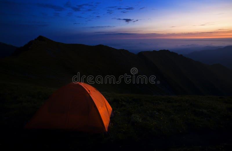 Barracas de acampamento fotos de stock royalty free