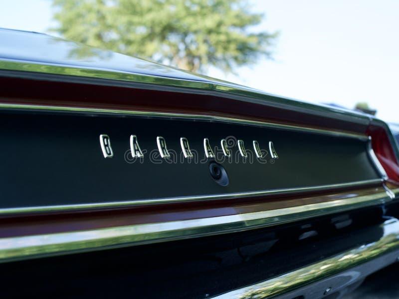 Barracuda mięśnia samochód Plymouth obraz stock