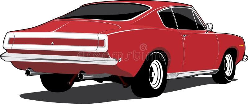 barracuda Plymouth royalty ilustracja
