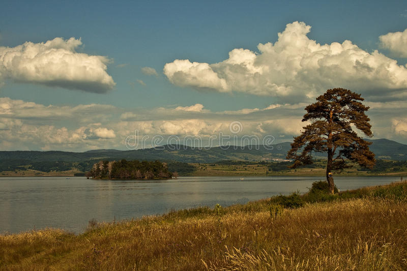 Barrage Bulgarie de Batak photo stock