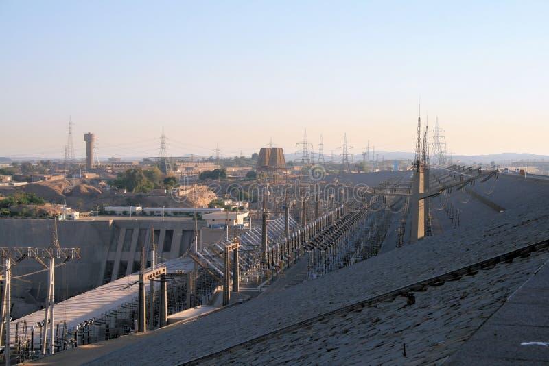 Barrage d'Aswan 2 photo stock