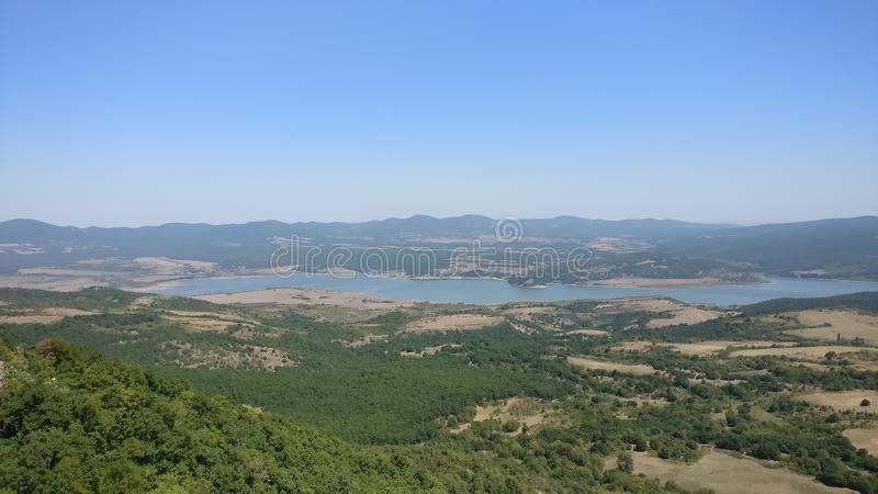 Barrage d'Ivaylovgrad images stock