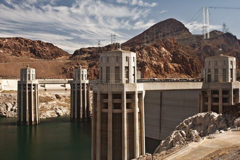 Barrage de Hoover image libre de droits