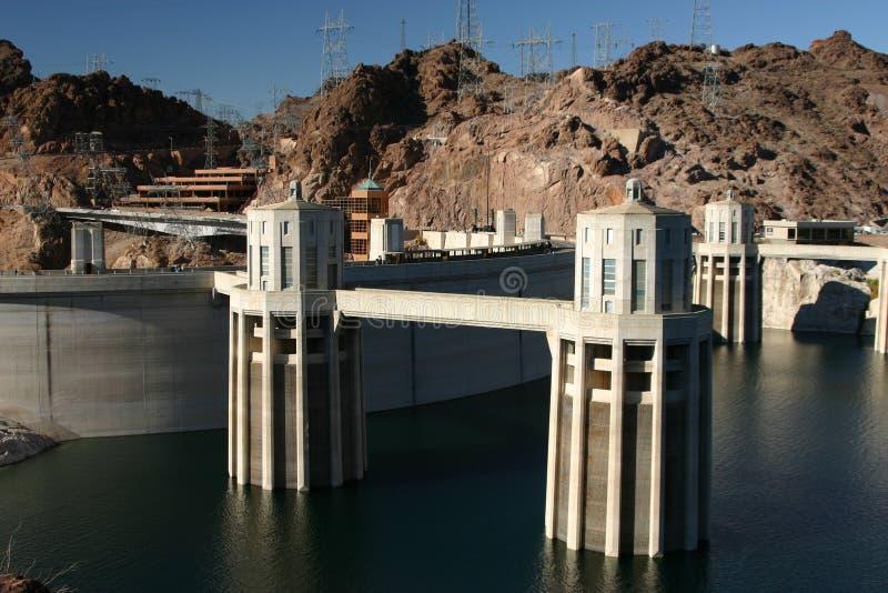 Barrage de Hoover image stock