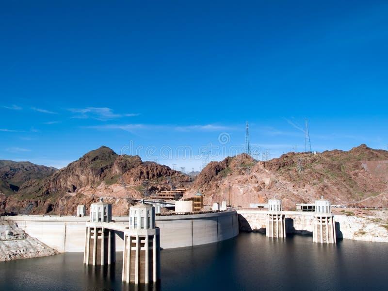 Download Barrage de Hoover photo stock. Image du hydromel, structural - 737580
