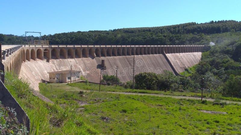 Barrage de l'eau photo stock
