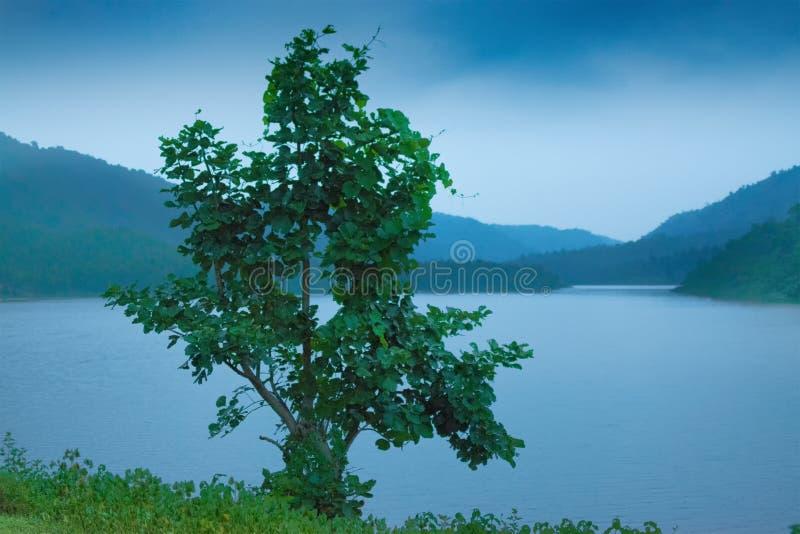 Barrage de l'eau de Khoyraberhi - Purulia, le Bengale-Occidental, Inde photos libres de droits