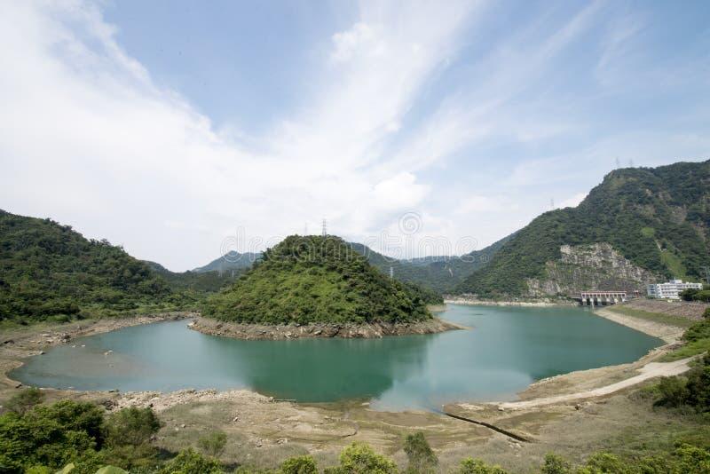 Barrage de Mingtan photographie stock libre de droits