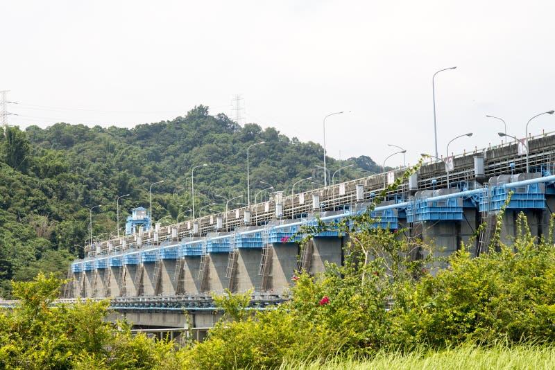 Barrage de Mingtan photos libres de droits