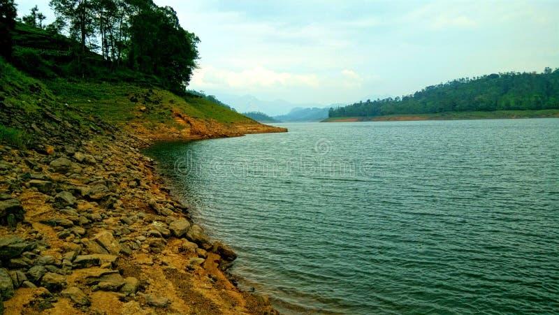Barrage de Solaiyar image stock