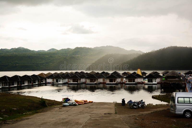 Barrage de Srinagarind images stock