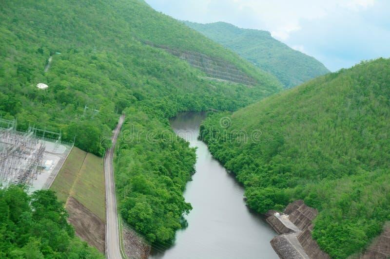 Barrage de Srinakarin photographie stock
