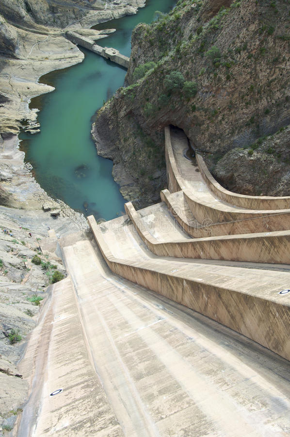 Barrage Escales photo stock