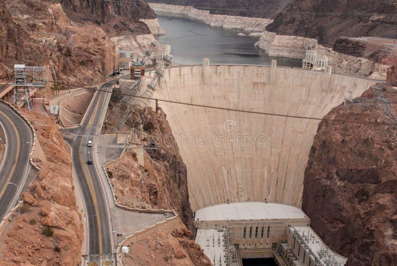 barrage Etats-Unis de 2015-Dec Hoover la technologie la plus de pointe photographie stock libre de droits