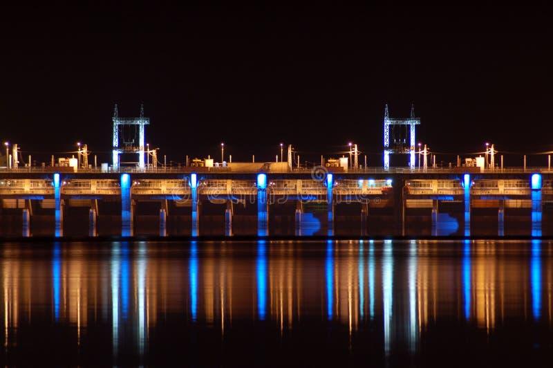 Barrage hydro-électrique photos stock