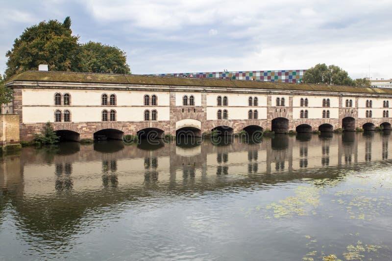 Barrage Vauban, Strasbourg, France. Barrage Vauban in Strasbourg, Alsace, France stock images
