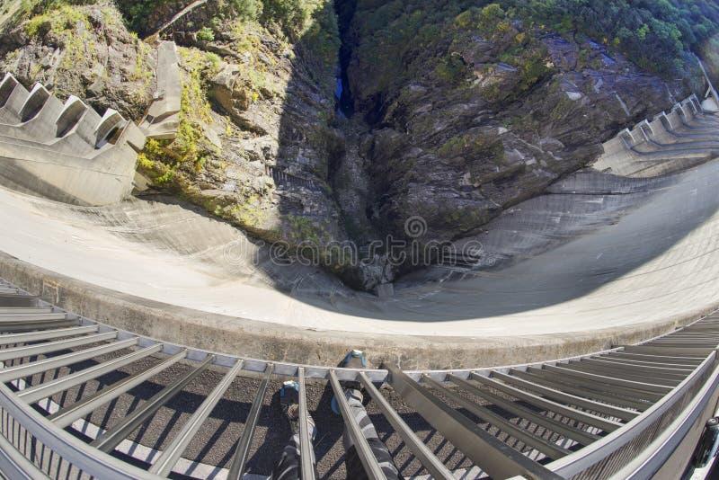 Barrage 'Verzaska' - centrale hydroélectrique photographie stock