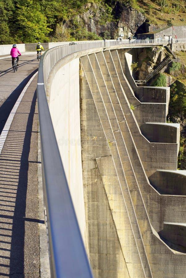 Barrage 'Verzaska' - centrale hydroélectrique image libre de droits