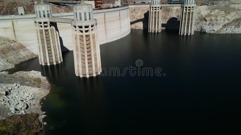Barragem Hoover fotografia de stock
