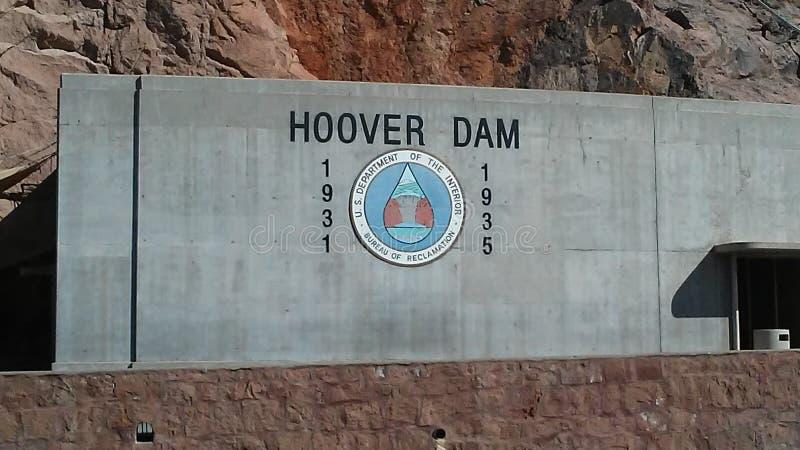 Barragem Hoover imagens de stock