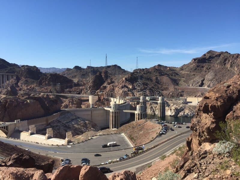 A barragem Hoover fotos de stock