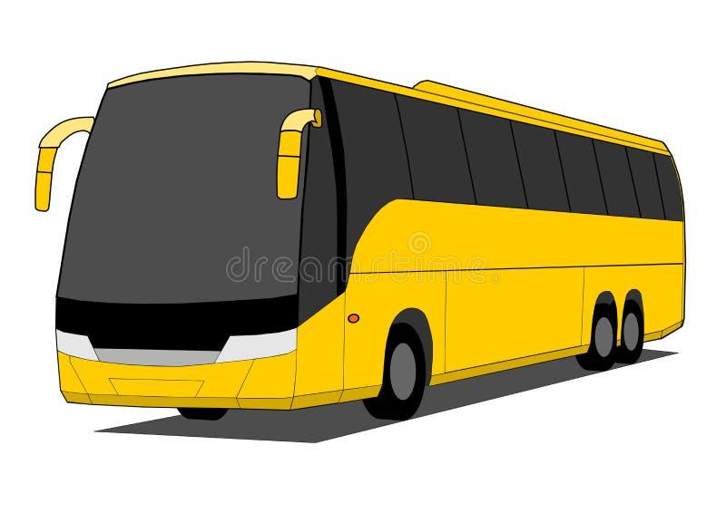 Barramento do ônibus ilustração royalty free