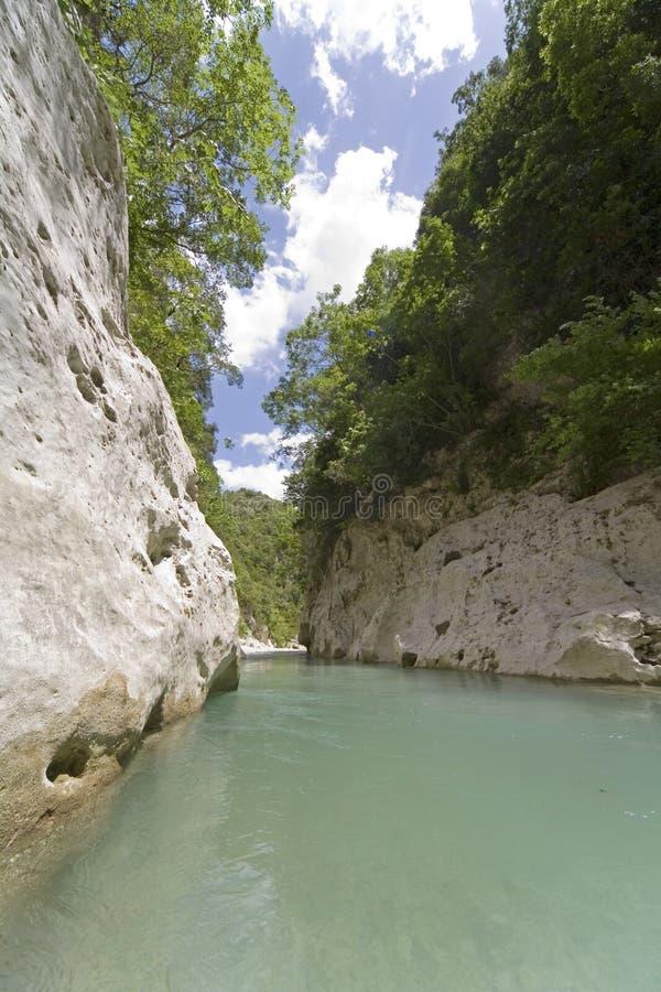 Barranca imagen de archivo