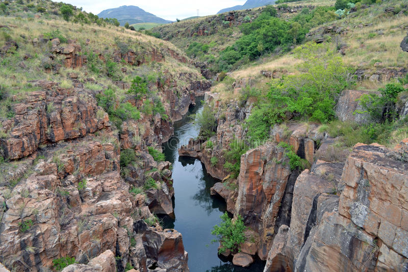 Barranca del río de Blyde imágenes de archivo libres de regalías