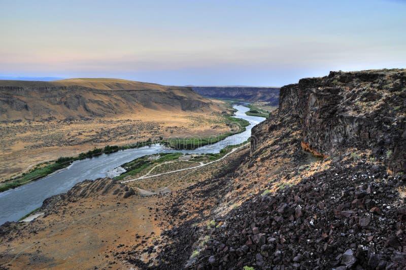 Barranca del río de serpiente, Idaho fotos de archivo libres de regalías