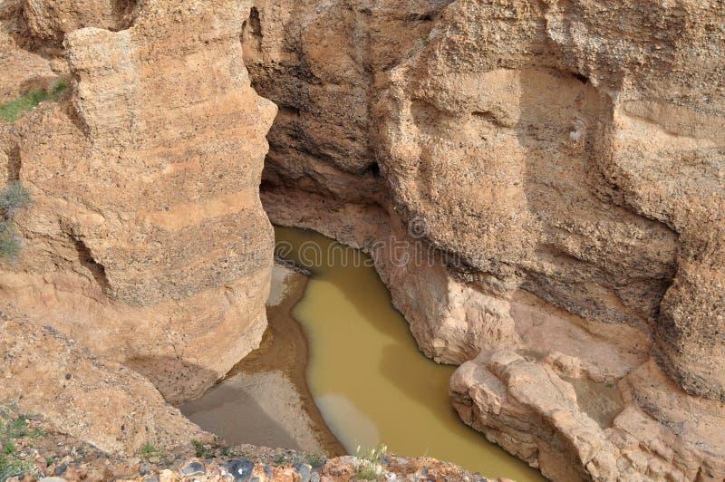 Barranca del río Tschaub, Namibia imagenes de archivo