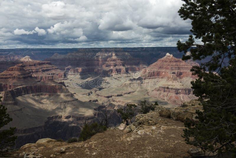 Barranca magnífica Arizona foto de archivo