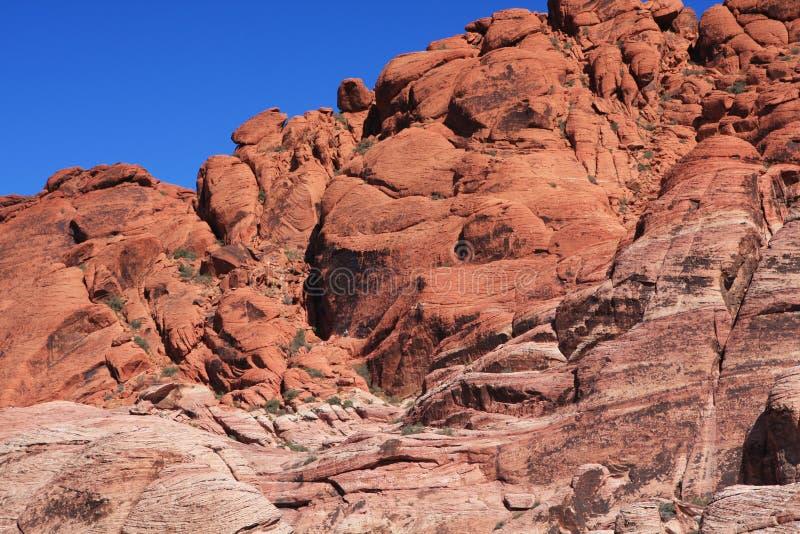 Barranca roja de la roca en Las Vegas imágenes de archivo libres de regalías