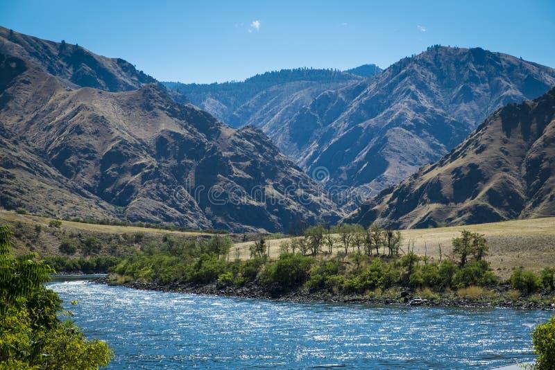 Barranco de los infiernos, Idaho fotografía de archivo libre de regalías